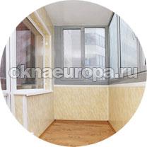 Фото отделки балкона внутри сайдингом