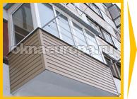 Варианты отделки балконов и лоджий