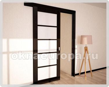 Сдвижная дверь в комнату