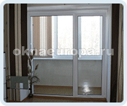 Сдвижные двери на балконе