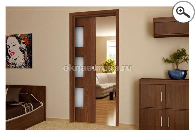 Как скрыть раздвижную дверь
