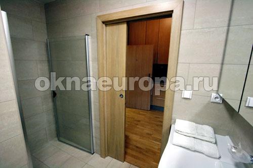 Как сделать двери в ванной 96