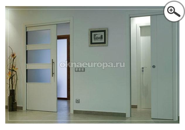 Раздвижная дверь одинарная для проема