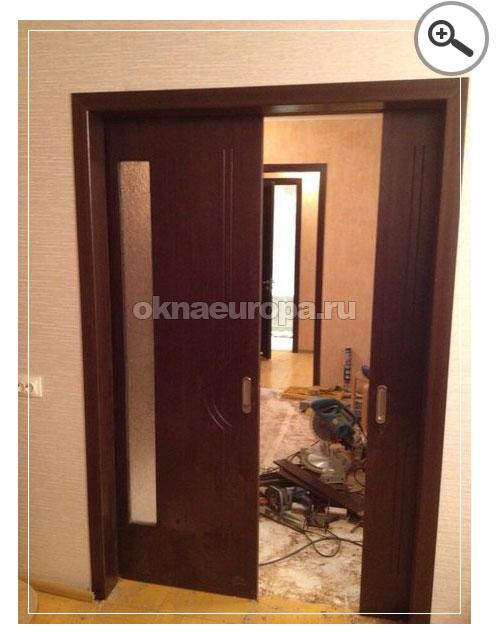 Встраиваемая раздвижная дверь