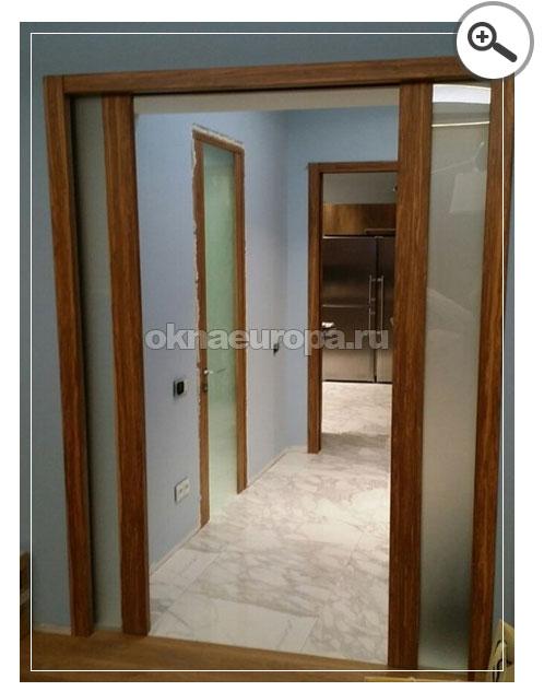Встроенные двери фото
