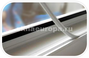 Заглушка паза штапик в окна